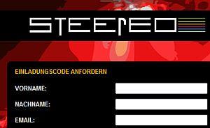 steereo-einladungscode-anfordern