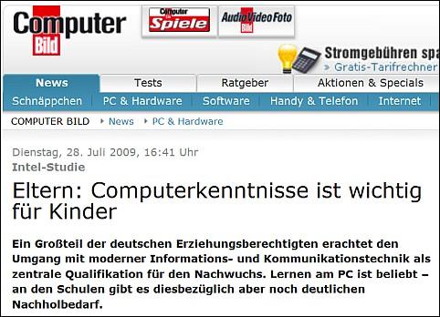 Computerbild Computerkenntnisse