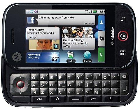 Motorola Cliq front