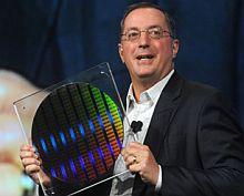 Wafer mit den ersten 22-nm-Chips