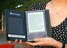 LG Solar E-Book-Reader