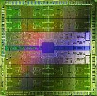 "<em>Die mit Nvidias neuer GPU-Architektur ""Fermi""</em>"