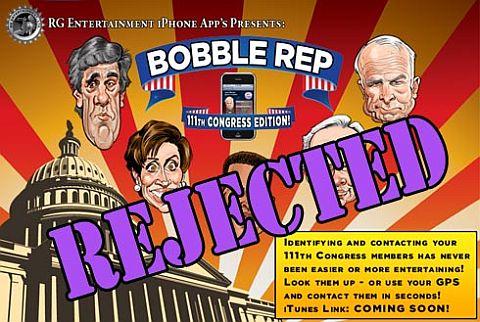 <em>Abgelehnt – Politiker dürfen nicht komisch sein!</em>