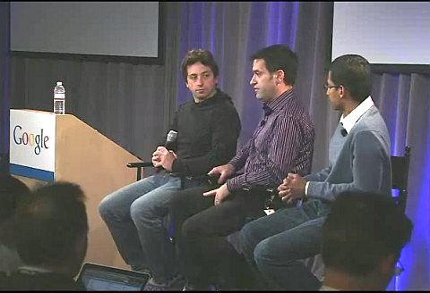 <em>Noch Fragen zu Chrome OS? Sergej Brin, Matt Papakipos und Sundar Pichai geben Antworten</em>