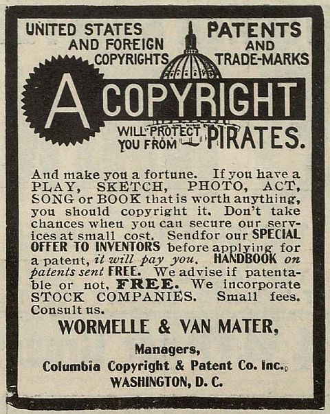 Copyright Pirates 1906