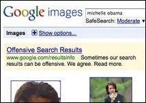 <em>Google nimmt Anstoß an den eigenen Suchergebnissen</em>