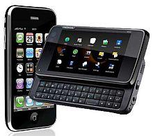 <em>Nische trifft Nokia: Iphone gegen N900</em>