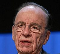 Rupert Murdoch Portrait