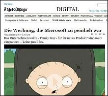 <em>Peinlich, Tages-Anzeiger?</em>