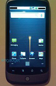 Google Phone Homescreen