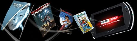 PSP Digital Comics Ensemble