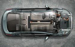 Chevy Volt Elektroauto Aufbau