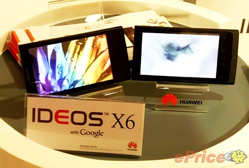 "Huawei X6 High-End-Smartphone mit Android 2.2 ""Froyo"""