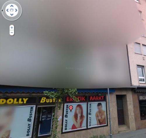 Dolly Buster Erotik Markt Stuttgart Google Street View