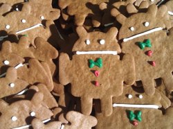 Android Gingerbread Lebkuchen