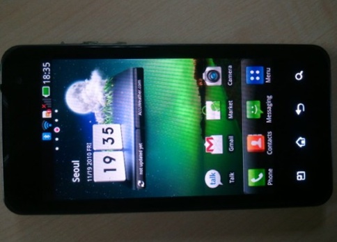 LG Star Homescreen