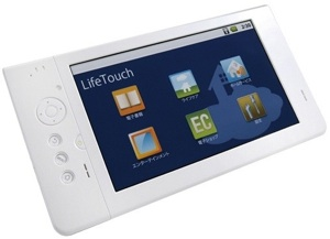 NEC LifeTouch Android Tablet