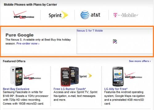 Samsung Nexus S Pure Google