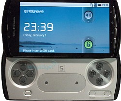 Angeblicher Prototyp eines Sony Playstation Phone