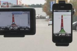 Navi-Apps für Smartphones schlagen Navigationsgeräte