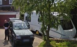 Google Street View Caravan-Diebstahl
