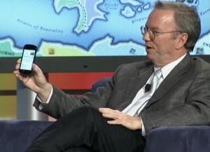 Eric Schmidt beim Web 2.0 Summit 2010