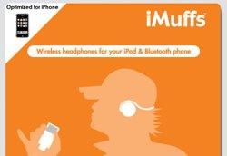 iMuffs Bluetooth-Kopfhörer