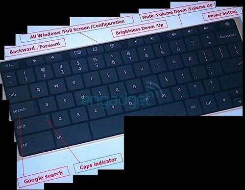 Chrome OS Tastatur