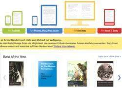 Google E-Books