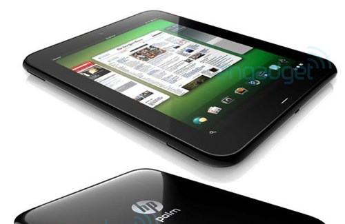 HP Palm Topaz Tablet mit WebOS