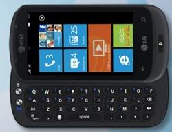 LG Quantum mit Windows Phone 7