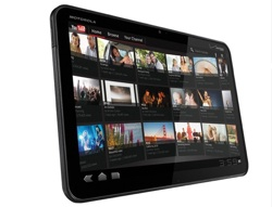 Motorola Xoom Android Tablet Honeycomb