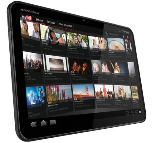 Motorola Xoom mit YouTube