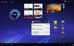 Android 3.0 Honeycomb User Interface