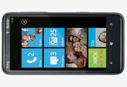 HTC HD7 mit Windows Phone 7