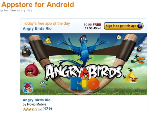 Amazon Appstore for Android Angry Birds Rio
