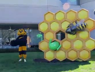 Android Honeycomb Skulptur