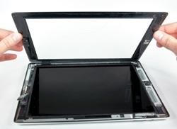 Apple iPad 2 geöffnet