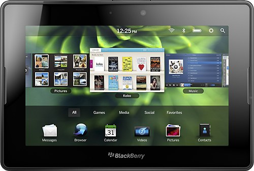 Blackberry Playbook Front