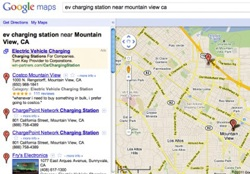 Google Maps Elektroauto Ladestationen