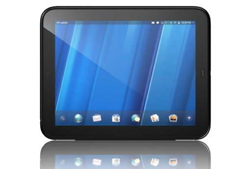 HP Touchpad Tablet mit WebOS