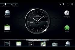 Saab IQon Display