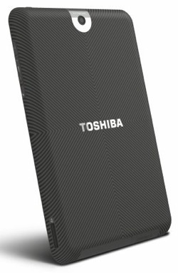 Toshiba Tablet Back