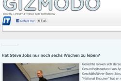 Gizmodo.de Steve Jobs