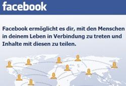 Facebook Verbindung