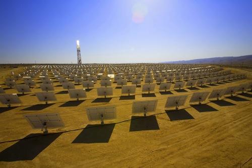 Solarturm-Kraftwerk