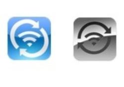 Wi-Fi Sync Logo Vergleich