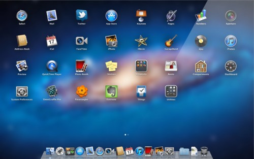 OS X Lion Launchpad